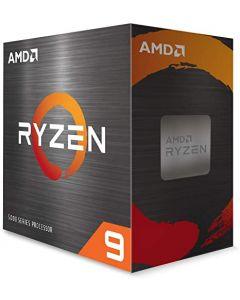 Procesador AMD Ryzen 9 5900X, 12-Cores, 3,7Ghz -Socket AM4, 105W TDP
