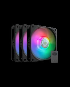 Pack 3 ventiladores ARGB Cooler Master SICKLEFLOW 120 ARGB