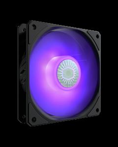 Ventilador Cooler Master Sickleflow con iluminación LED RGB, 120 mm.