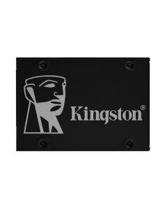"Unidad SSD 256GB Kingston KC600 2.5"", Unidad auto encriptada, AES de 256 bits, TCG Opal y eDrive"