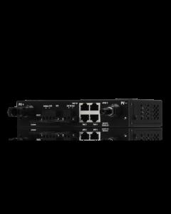 Controlador de carga MPPT SunMax SolarPoint 24V 7A para interior con switch PoE pasivo 24V integrado para alimentar equipos airMAX