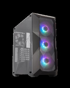 Gabinete Cooler Master MasterBox TD500 ARGB (Lateral y Frontal Acrilico, Sin Fuente, ATX)
