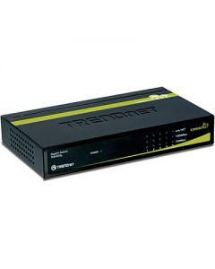 TRENDnet TEG S50G - Conmutador - 5 x 10/100/1000 - sobremesa