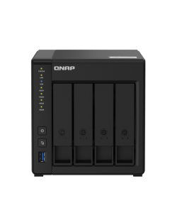 Servidor NAS QNAP TS-451D2, 4-Bay, Intel Celeron J4025 (2,0Ghz), 4GB DDR4 SO-DIMM, Sata 6Gb/s