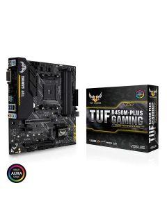 Placa Madre ASUS TUF B450M-PLUS GAMING AMD Ryzen AM4 B450 SATA 6Gb/s USB 3.1 HDM, M.2, Micro ATX