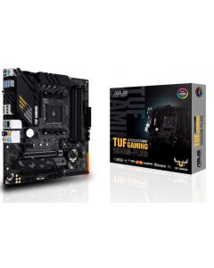 ASUS - TUF GAMING B550M-PLUS (WI-FI) - Motherboard - Mini ITX - Socket AM4 - AMD B550 - para A series / para Ryzen 7 / para Ryzen - AMD Radeon Vega - Sound card
