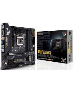 Placa Madre TUF-GAMING-B460M-PLUS-WI-FI - Intel® B460 (LGA 1200) micro ATX gaming dual M.2