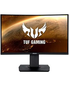 """Monitor Curvo Gamer TUF Gaming 23.6"""" Full HD (1920 x 1080), 144Hz, Extreme Low Motion Blur™, FreeSync™, 1ms (MPRT), Shadow Boost"""