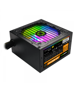 Fuente de Poder Gamemax 450W VP-450 RGB, Efficiency Level >75%, ATX