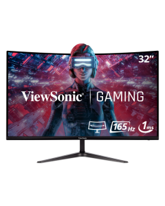 """Monitor ViewSonic  LED-backlit LCD - Curved Screen - 32"""" - IPS - HDMI"""