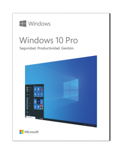 Microsoft® Windows 10 Profesional OEM 64 bit Español Caja - Sólo para equipos sin Windows