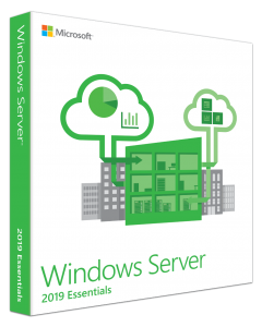 Microsoft Windows Server 2019 Essentials Edition - Licencia - 1-2 procesadores - OEM - ROK - DVD - con el BIOS bloqueado (Hewlett Packard Enterprise), Microsoft Certificate of Authenticity (COA) - Español - EMEA, Americas