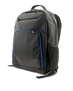 "Mochila Xtech para laptop - 15.6"" - Durable polyester - Black - & Blue XTB-211"