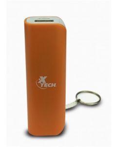 Xtech - Cargador de batería portátil con llavero - 2600mAh-USB