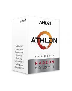 Procesador AMD Athlon™ 3000G, Dual-Core, 3.5GHz, Video Radeon Vega 3, Socket AM4