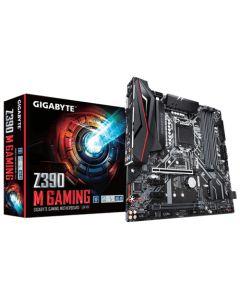 Placa Madre Gigabyte Z390 M GAMING, USB 3.1 Gen2 Type-A + Type-C, Intel GbE LAN cFosSpeed, Micro-ATX