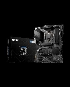 PLACA MADRE MSI PRO Z490-A PRO LGA1200 Intel Z490 SATA 6Gb/s ATX