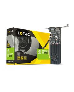 Tarjeta de Video ZOTAC GeForce GT 1030 - 2 GB GDDR5 - PCIe 3.0 - DVI, HDMI Perfil bajo