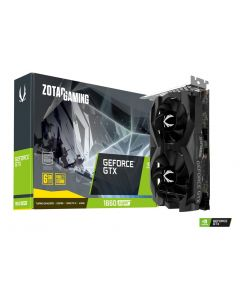Tarjeta gráfica ZOTAC GAMING GeForce GTX 1660 SUPER Twin Fan - 6 GB GDDR6 - PCIe 3.0 x16 - HDMI, 3 x DisplayPort