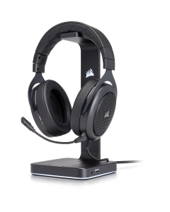 Corsair Auriculares para gamer HS60 SURROUND - Carbón (cable)