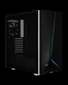 Corsair Chasis de cristal templado Carbide SPEC-06 RGB, negro