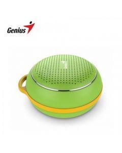 Genius SP-906BT - Parlante Portátil inalámbrico Bluetooth | 3W - verde