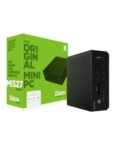 ZOTAC ZBOX M Series MI527 - miniordenador - Core i3 7100U 2.4 GHz - 0 GB