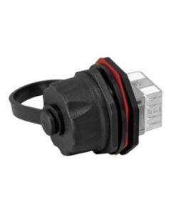 Furukawa MultiLan conector de red - negro, plata