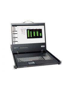 """Tripp Lite Rack Console KVM Cable Kit w/ 19"""" LCD 1U PS/2 TAA GSA - consola KVM - 17"""""""
