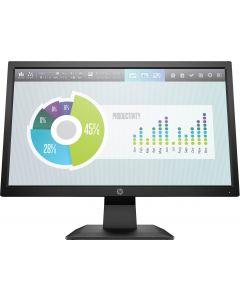 """Monitor 19.5"""" HP P204 - LED-backlit LCD monitor - 1600 x 900 - TN - HDMI / VGA (DB-15) - Negro"""