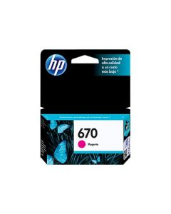 Cartucho de Tinta Magenta HP670