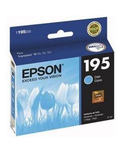 Epson T195 - cartucho de tinta cian - original