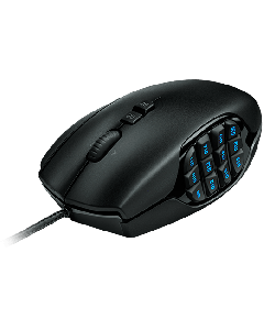 Mouse cableado USB - Gamer G600 MMO | laser - 20 botones (negro)
