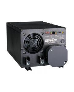 Tripp Lite 2000W APS INT 12VDC 230V Inverter / Charger w/ Auto Transfer Switching ATS Hardwired - convertidor de corriente CC a CA + cargador de baterías - 2000 vatios