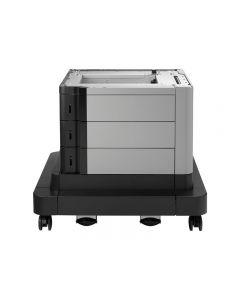 base para impresora HP Paper Feeder and Stand - con alimentador de soportes - 2500 hojas