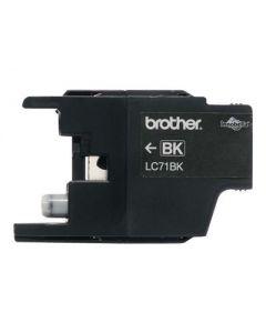 Brother LC71BK - negro - original - cartucho de tinta