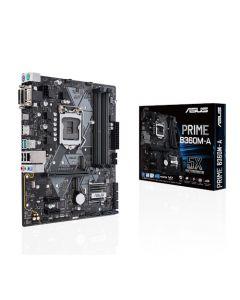 Placa Madre ASUS PRIME B360M-A - micro ATX - LGA1151 Socket - B360 - USB 3.1 Gen 1, USB 3.1 Gen 2, USB-C Gen1 - Gigabit LAN - Tarjeta gráfica (CPU necesaria) - HD Audio (8-canales)