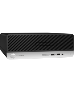 HP - Small form factor - Intel Core i3 I3-8100 / 3.6 GHz - 4 GB DDR4 SDRAM - 1 TB Hard Drive Capacity - Windows 10 Pro 64-bit Edition - Spanish