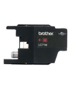 Brother LC71M - magenta - original - cartucho de tinta