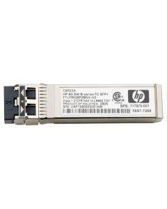 HPE - módulo de transceptor SFP+ - canal de fibra de 8 Gb (onda corta)