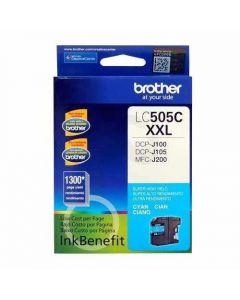 Cartucho Tinta Brother LC505C - Súper Alto Rendimiento - cián