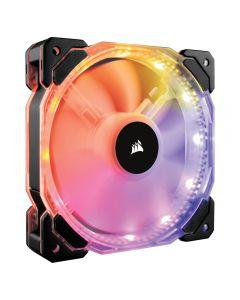 CORSAIR Ventilador HD120 RGB LED de 120 mm y alto rendimiento con controlador incluido