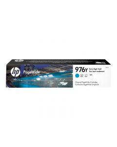 HP 976Y - Rendimiento extra alto - cián - original - cartucho de tinta