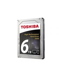 Toshiba X300 Performance - disco duro - 6 TB - SATA 6Gb/s