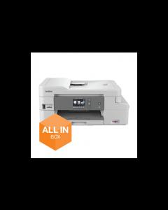 Brother Impresora multifunción de tinta | WiFi con impresión automática a doble cara (Pack impresora + consumibles) PDS-5000 | Escáner de documentos