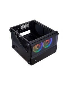 Gabinete Crystal Series 280X RGB - torre - micro ATX