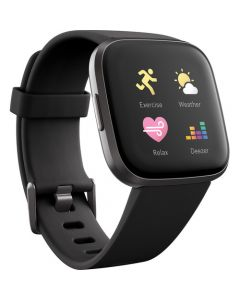 Fitbit Versa 2 | Carbon - Smartwatch - silicona - negro