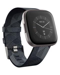 Fitbit Versa 2 | Edición Especial - Iron mist - woven jacquard - carbón