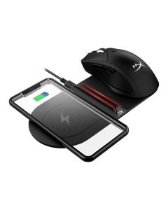 Cargador inalámbrico Qi HyperX ChargePlay Base™, Carga rápidamente dos dispositivos1 simultáneamente