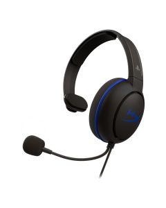 Audifono Gamer HyperX Cloud Chat™, Licencia PS4, Comunicación nítida para chat, Liviano (con cable)